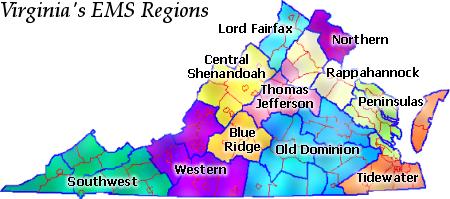 Virginia S Regional Ems Councils